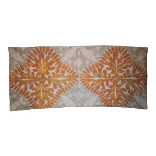Flowers 1 Sateen Linen Pillow Cover For Sale