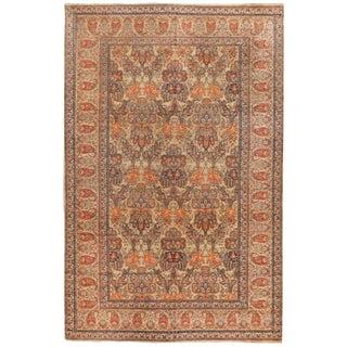 Exceptional Rare Antique 19th Century Oversize Persian Senna Carpet