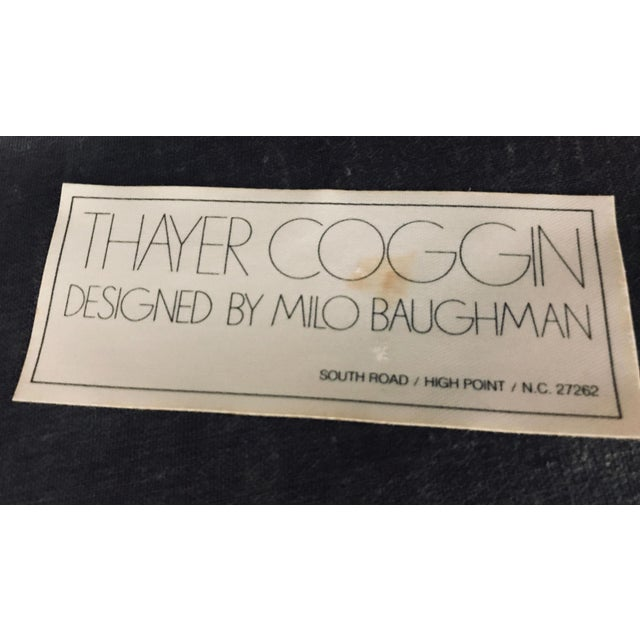1970s Mid-Century Modern Milo Baughman Thayer Coggin Dining Set - 7 Pieces For Sale - Image 12 of 13
