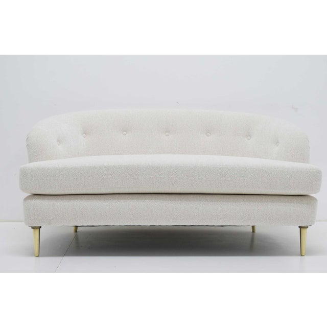 Edward Wormley for Dunbar Short Sofa Model 5406 For Sale - Image 13 of 13