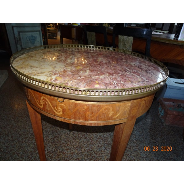 19th Century French Bouillotte Table For Sale - Image 10 of 13