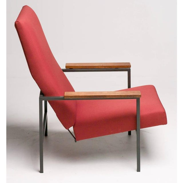 Enamel Lotus Lounge Chair by Rob Parry for Gelderland For Sale - Image 7 of 8