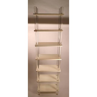 Extra Tall Lucite and Wood Shelf Preview