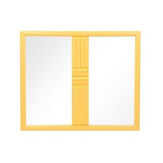 Midcentury Brutalist Style Mirror