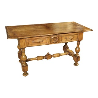 17th Century Basque Country Writing Table With Inset Star For Sale