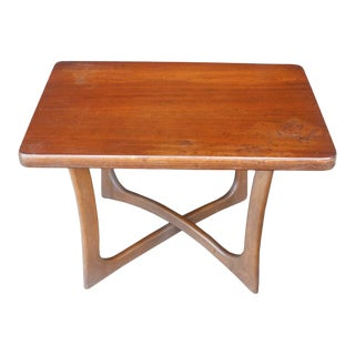 1950s Adrian Pearsall for Craft Associates End Table For Sale