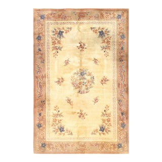 Pasargad Chinese Peking Hand-Knotted Rug - 6′ X 9′ For Sale