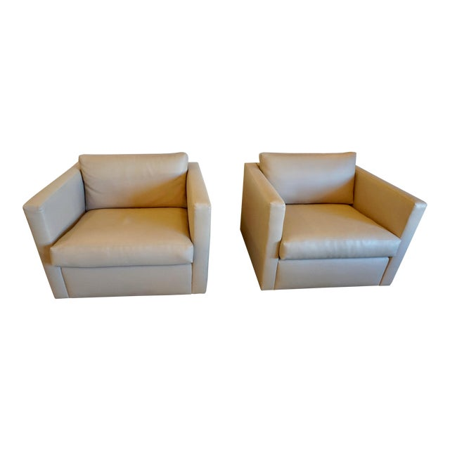 Charles Pfister for Knoll Lounge Chairs - a Pair For Sale