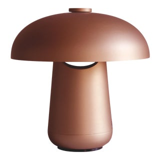 Contardi Ongo Metal Table Lamp, Copper For Sale