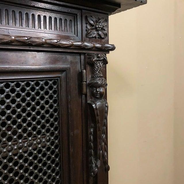 19th Century Italian Neoclassical Walnut Barrister's Bookcase For Sale In Dallas - Image 6 of 12