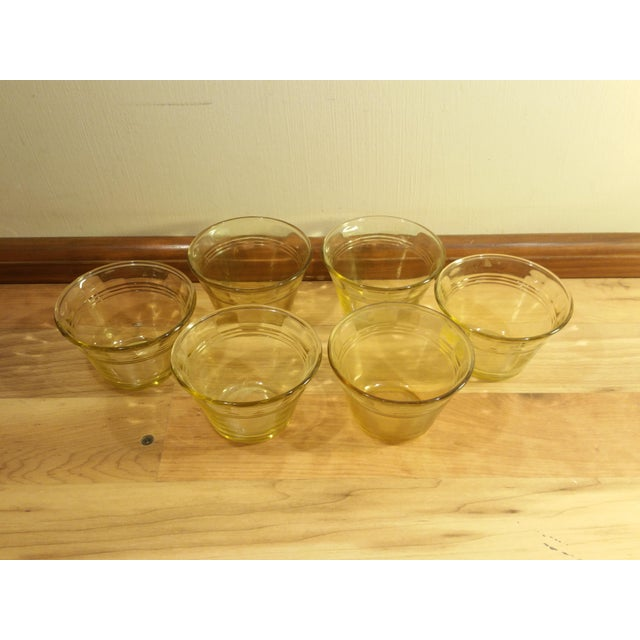 Amber Heat Proof Glass Ramekins - Set of 6 - Image 3 of 6
