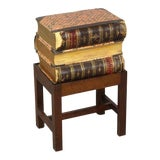 Image of Books Stack Side Table For Sale