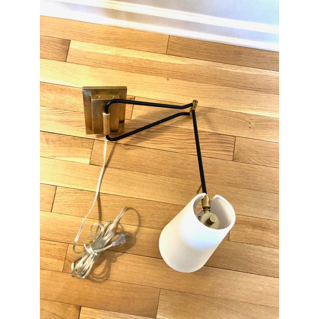 Keil Swing Arm Sconces- A Pair For Sale In Columbus - Image 6 of 8