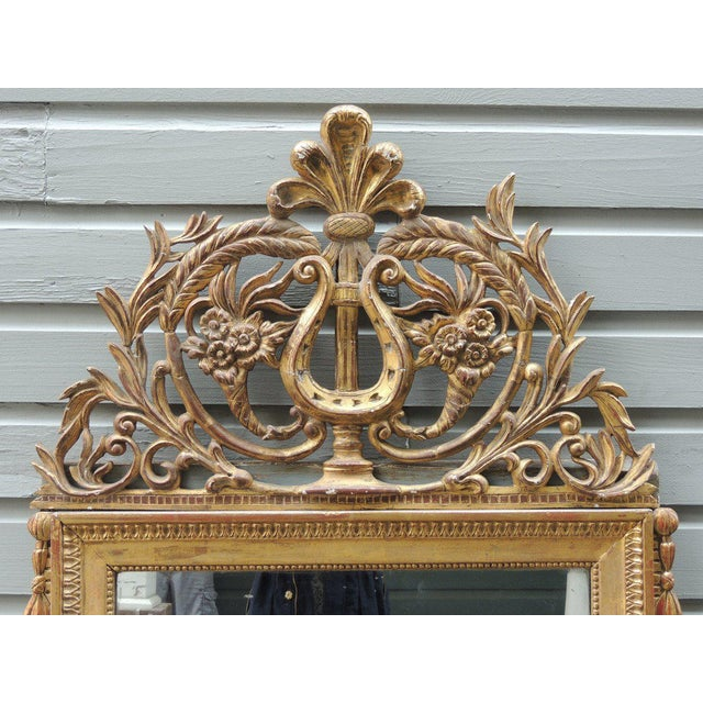 Late 18th C Italian Neoclassical Mirror For Sale In Charleston - Image 6 of 8