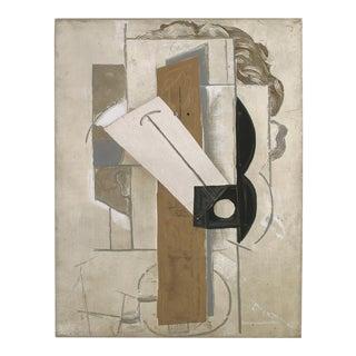 """PABLO PICASSO Tete de Jeune Fille a La Colombe 25"""" x 19"""" Lithograph 1956 Cubism For Sale"""