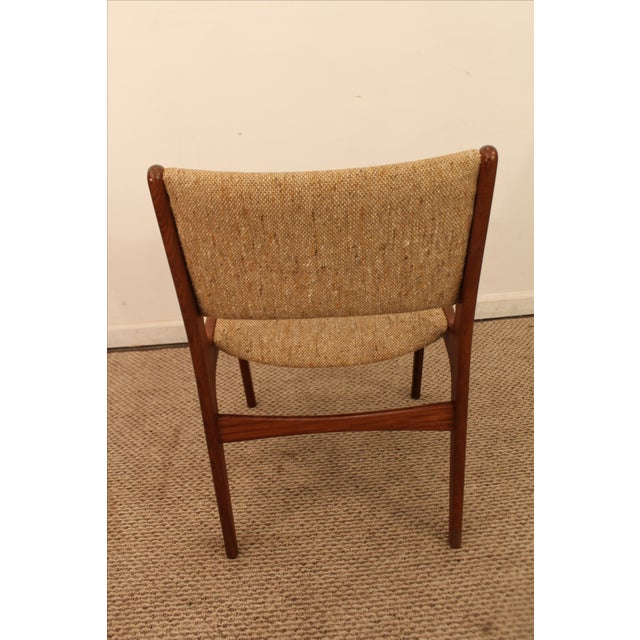Hans Wegner Style Teak Dining Side Chair - Image 4 of 7