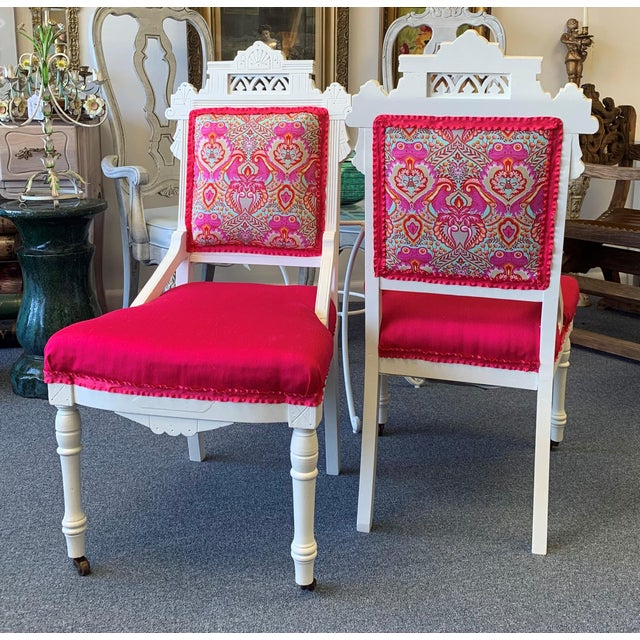 18th Century Antique Eastlake Chairs - A Pair For Sale - Image 13 of 13
