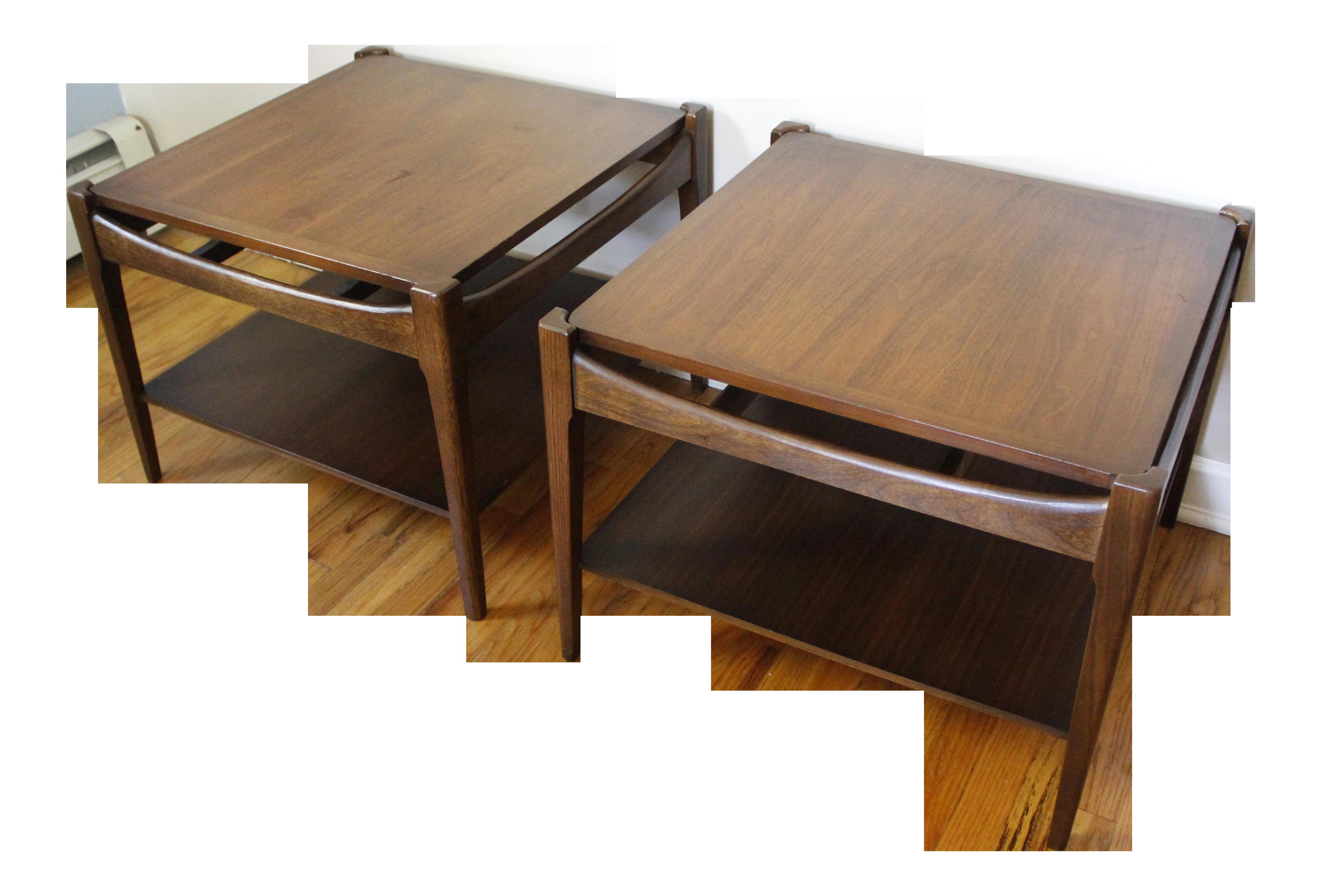 Vintage Used Bassett Tables Chairish