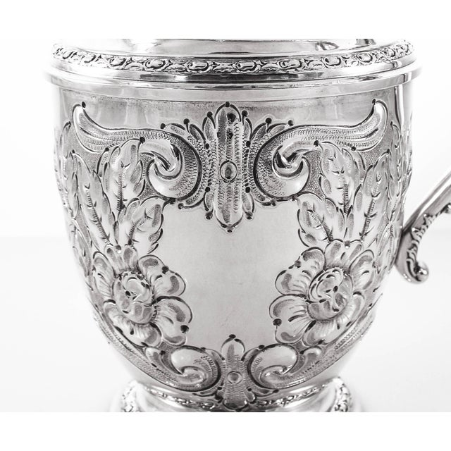 Frank Whiting Sterling Water Pitcher, Talisman Rose For Sale - Image 4 of 8