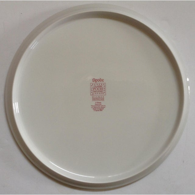 English Traditional Spode Pooh Cake Plate For Sale - Image 3 of 3