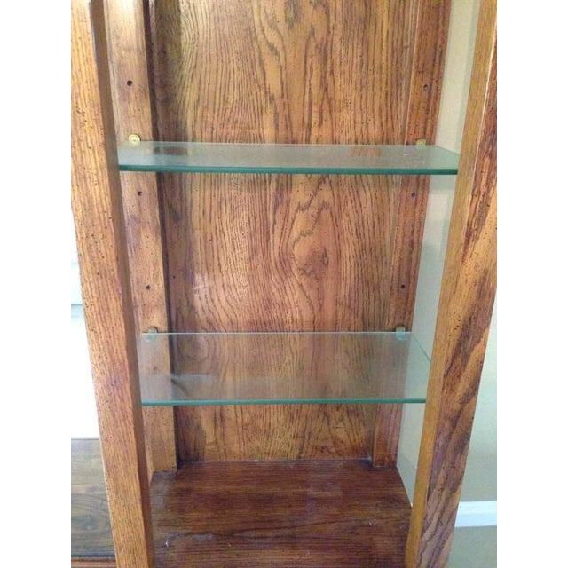 Thomasville Carved Maple Hutch - Image 5 of 7