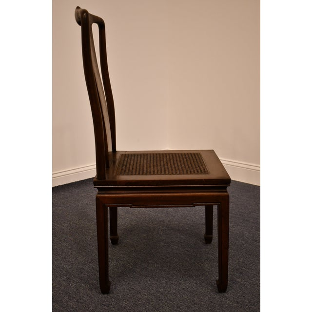 Brown Henredon Furniture Pan Asian Collection Side Chair For Sale - Image 8 of 11