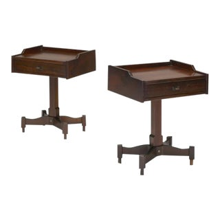 1960's Pair of Nightstands by Claudio Salocchi for Sormani For Sale