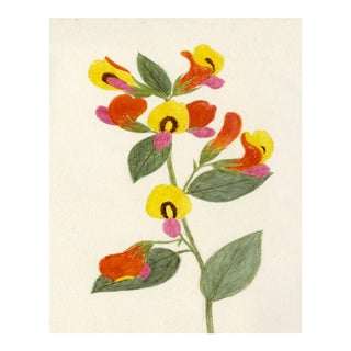 Hubbard Flower, Small: 1892 Artwork, Unframed Artwork For Sale