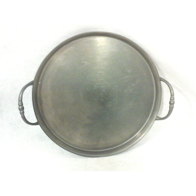 Pewter Gallery Tray & Cups - Set of 7 - Image 2 of 5