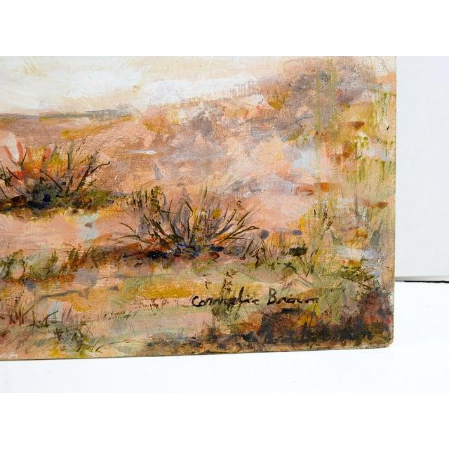 Impressionist Rocky Desert Landscape Painting For Sale - Image 3 of 4