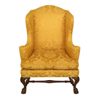 Kittinger Hn-9 Historic Newport Mahogany Wing Chair