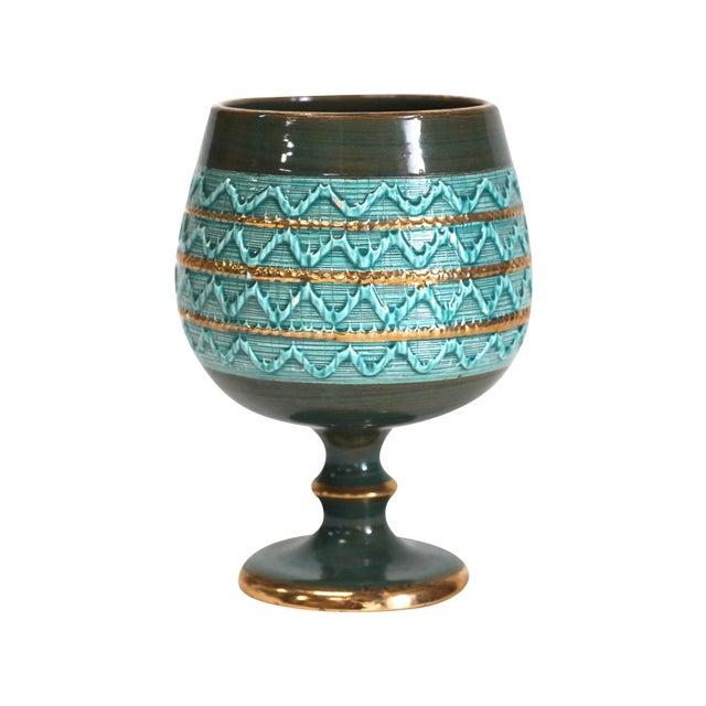 Mid-Century Italian Ceramic Pottery Vase - Image 1 of 5