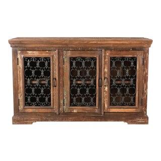 Wooden 3-Door Sideboard