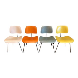 Modern Mid Century Dining Chair Collection - Set of 4 For Sale