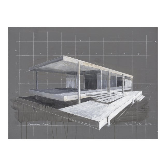 "Tom Judd, ""Farnsworth House"" For Sale"