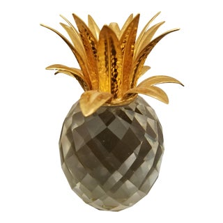 Swarovski Crystal Pineapple Candle Holder