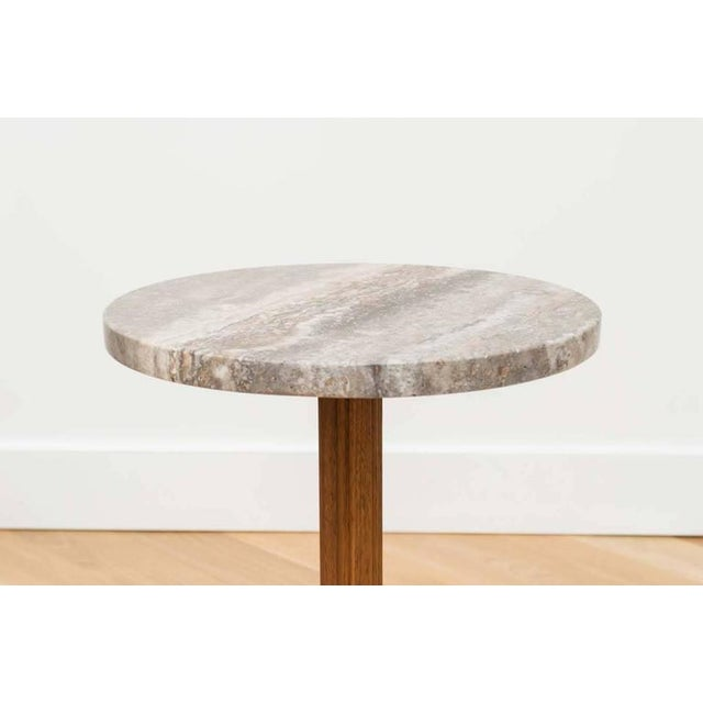 Danish Modern Edward Wormley for Dunbar Marble Side Table For Sale - Image 3 of 6