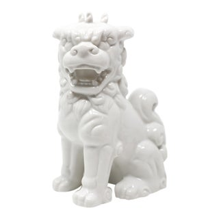 Vintage Blanc De Chine Foo Dog Figurine For Sale