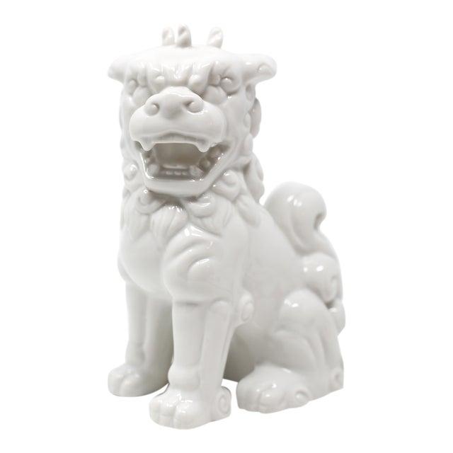 Vintage Blanc De Chine Foo Dog Figurine For Sale