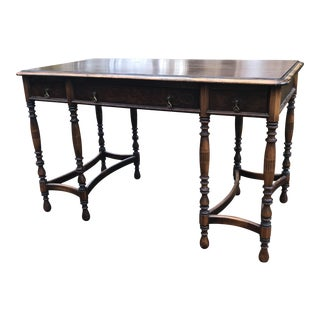 Early 20th Century Vintage Raab Chinoiserie Furniture Desk For Sale