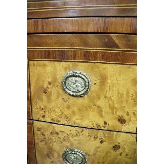 20th Century Italian Louis XVI Style Inlaid Wood Commode or Chest of Drawer For Sale - Image 10 of 13