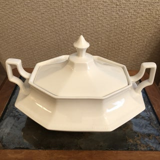 Mid 20th Century Vintage English Ironstone Compote Preview