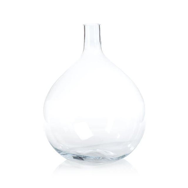 Contemporary Kenneth Ludwig Chicago Tokima Mouth Blown Glass Vase For Sale - Image 3 of 3