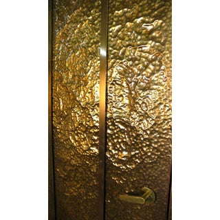 Custom Hammered Brass Doors For Sale