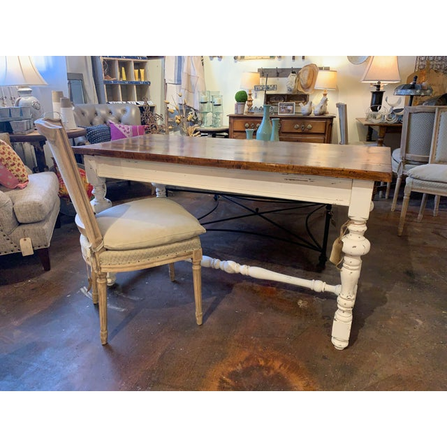 1910s French Farm Table For Sale In Denver - Image 6 of 13
