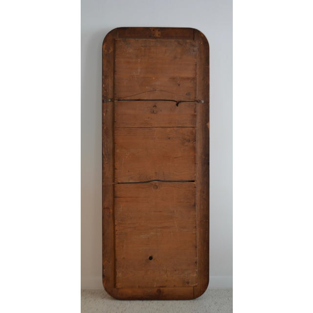 Brown Mid 19th Century Louis Philippe Style Wall Mirror For Sale - Image 8 of 10