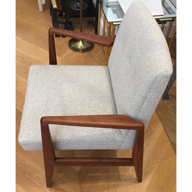 Mid-Century Modern Vintage Mid Century Jens Risom Lounge Chairs- a Pair For Sale - Image 3 of 12