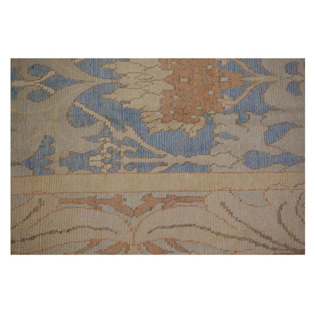 This beautiful Rug is hand made, %100 wool pile, made in Iran. It features a pattern in a vibrant combination of ivory and...