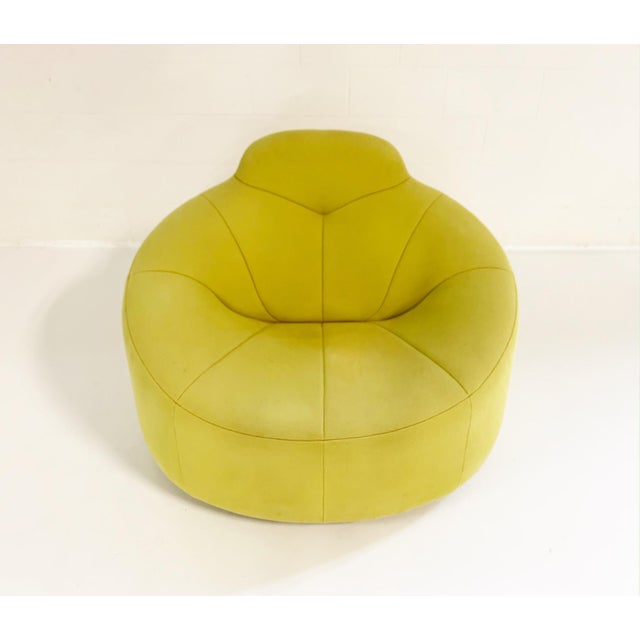 From Ligne Roset website: As suggested by its name, soft, organic, round shapes and firm seating comfort all characterize...