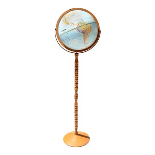 Vintage Floor Globe by Globemaster For Sale